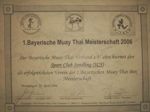 Thaiboxen Bayern Titel