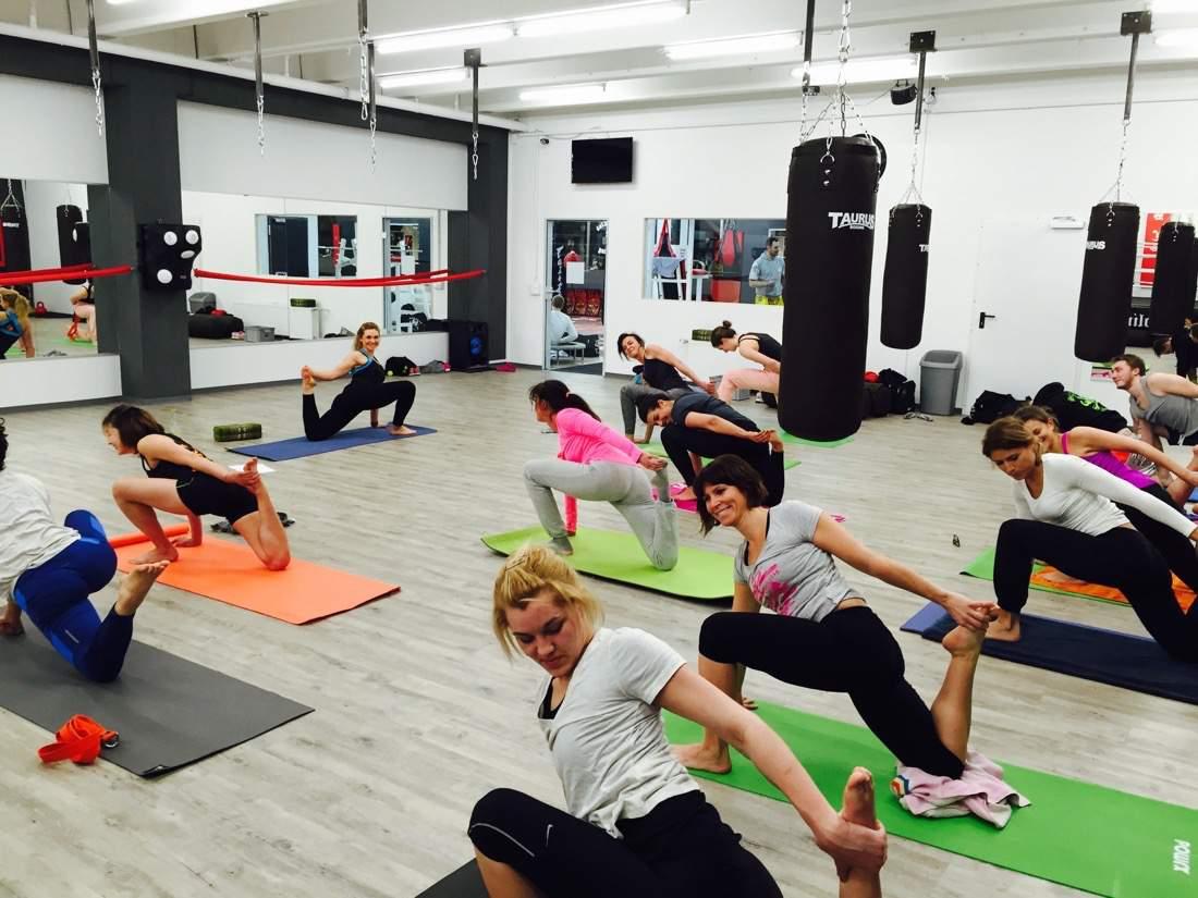 Yoga im Sportclub Sendling