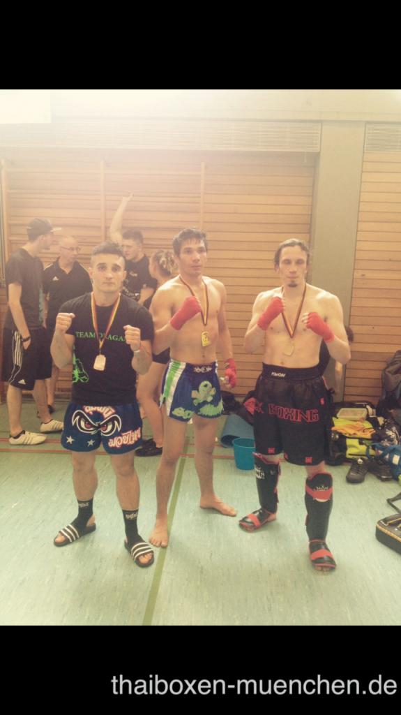 ISKA Medaillen gewonnen