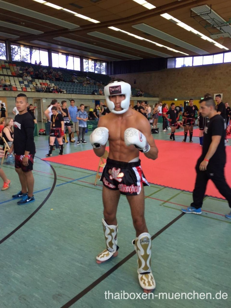Omar-Kampfsportler