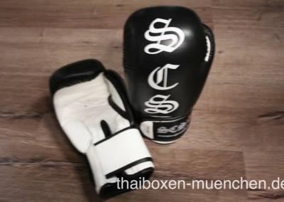 Boxhandschuhe schwarz