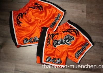 Muay Thai Shorts - orange