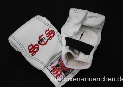 Sandsackhandschuhe - weiß
