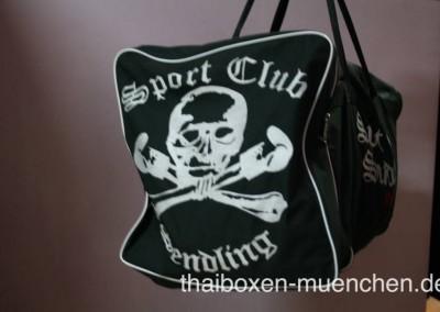 Sporttasche - schwarz