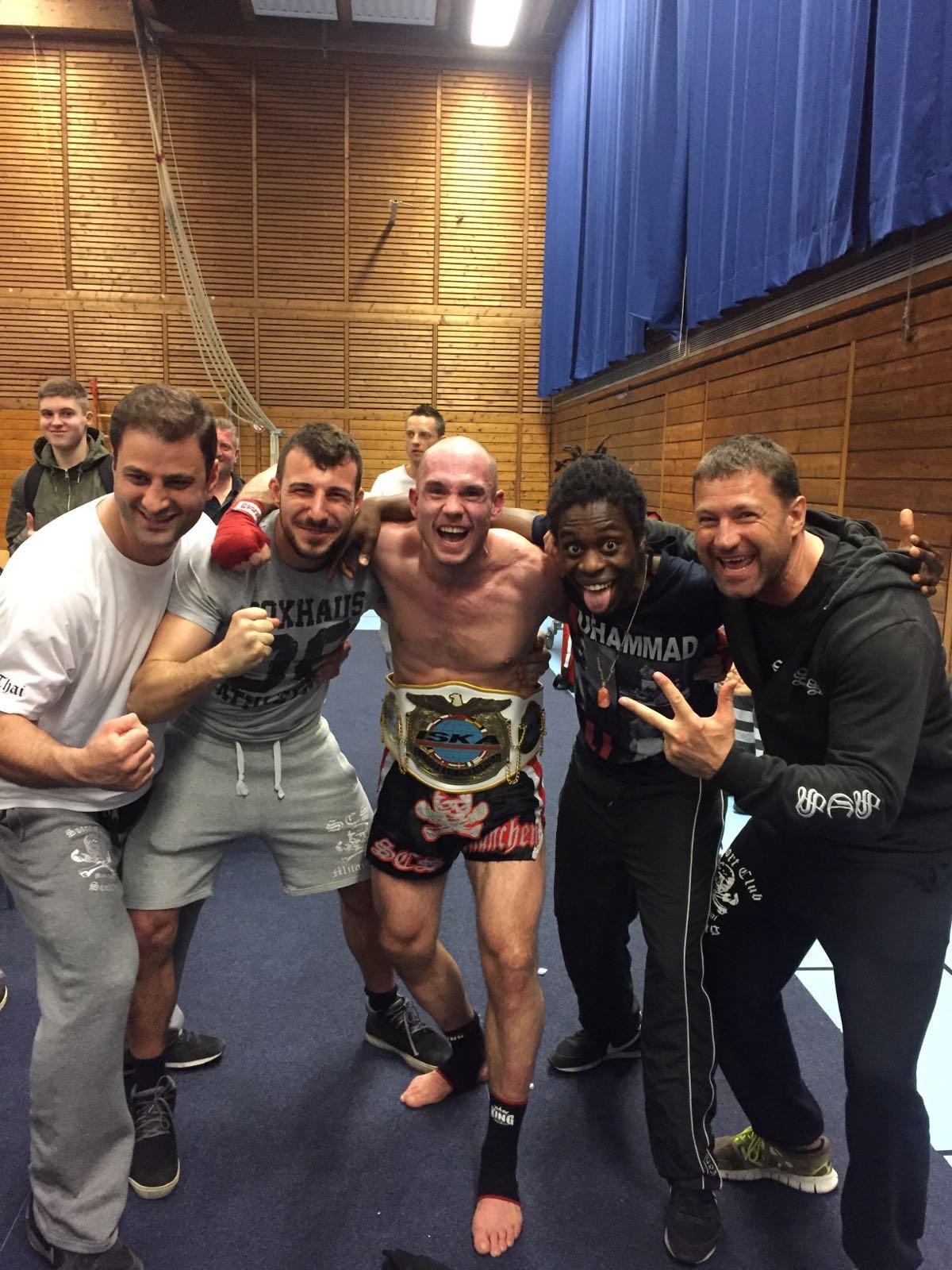 Markus Meyer wird ISKA Europameister 2016