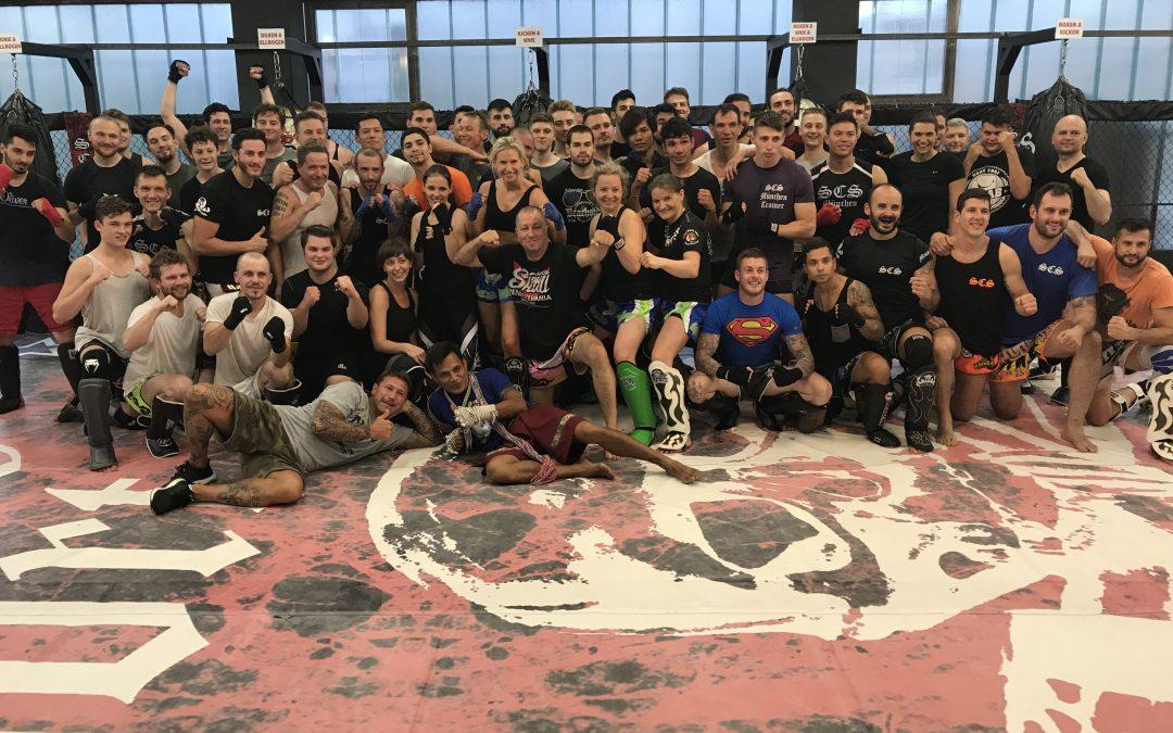 SCS Muay Thai Seminar mit Trainer Kin und Bernard Chaplin