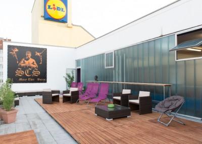 Terrasse zum Erholen vom Thaiboxen-muenchen.de