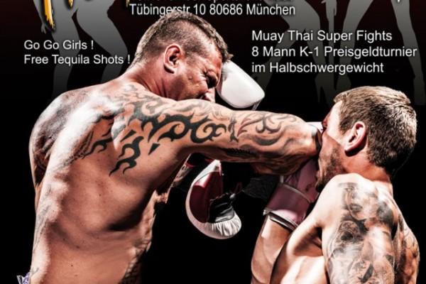 Thaibox SCS Fight Night in München im Jahr 2013