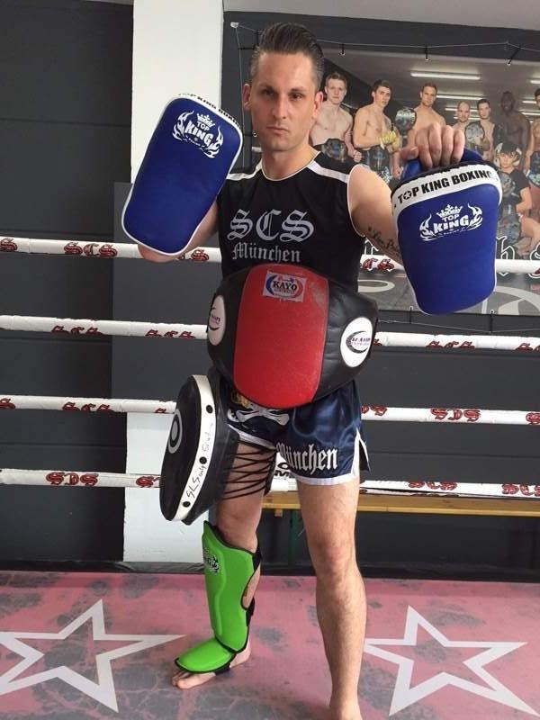 Wettkämpfer Trainer Michael Kahnert