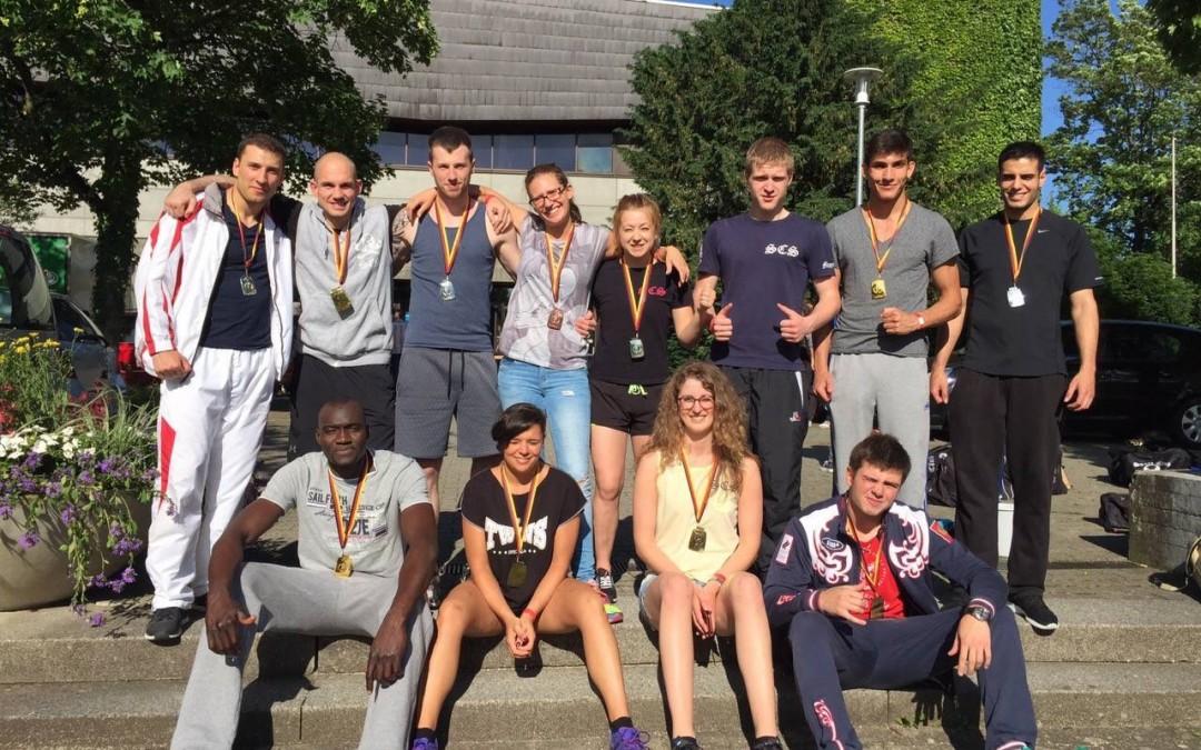 Kämpfer des SCS auf der ISKA Meisterschaft