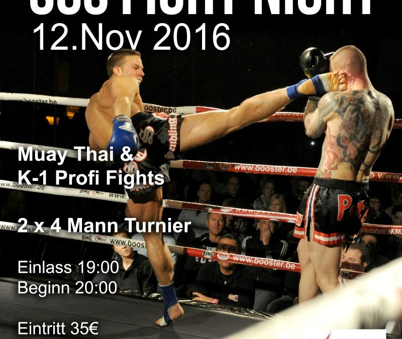 SCS Fight Night 2016