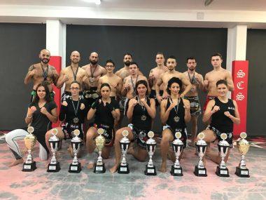 SCS ISKA Deutsche Meister in Muay Thai und K-1