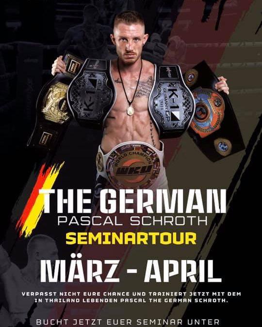 Thaibox Weltmeister Pscal Schroth Seminar in München
